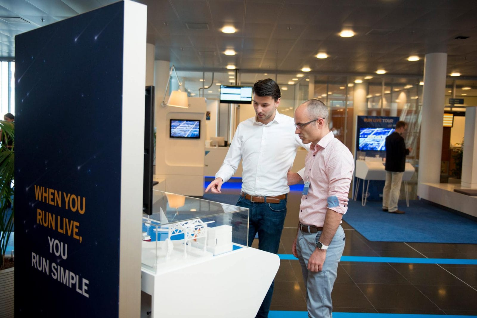 First Impression x SAP Software - experience center